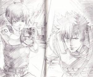 illustration, manga, and psycho pass image