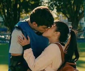 lara jean, kiss, and lana condor image
