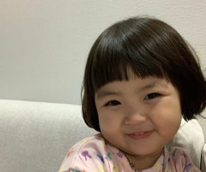 baby, korean, and happy image