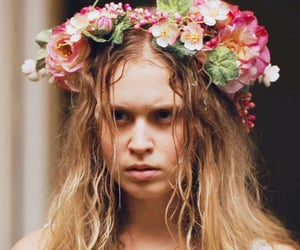 television, persephone, and flower crown image