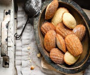 fashion, madeleine, and foodies image