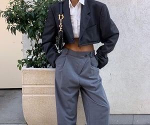 fashion, style, and wide leg pants image
