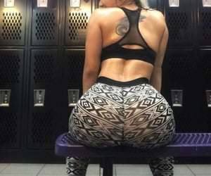 fitness, leggings, and pants image