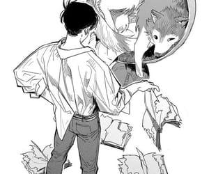 anime, boys, and dog image