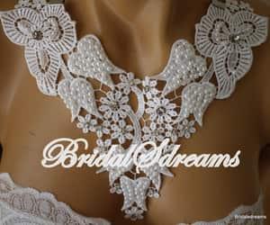 bridal necklace, wedding accessories, and bride accessories image