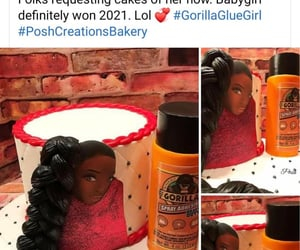 bakery, custom, and gorilla glue girl image