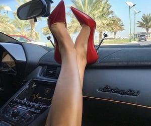 Lamborghini, red, and shoes image