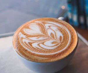 cafe, coffee, and milk image