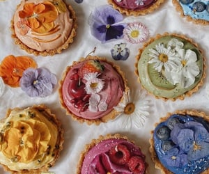 food, flowers, and delicious image