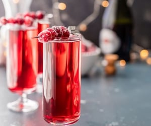 cocktail, cranberry, and arcencie1 image
