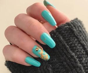 nail art, pastel, and nails image