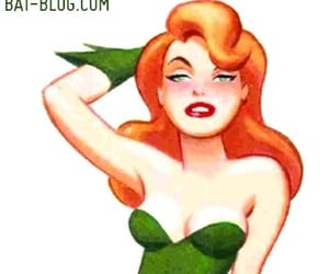 cartoon, comic, and poison ivy image