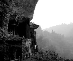 black and white, movie, and cinema image