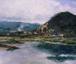 arte, pintura, and oleos image