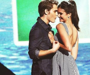 couple, tvd, and thevampirediaries image