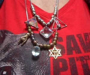 star of David, gold, and quartz image