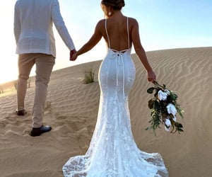 bridal, bride, and couples image
