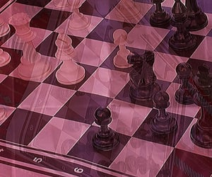 chess, pinkaesthetic, and aesthetic image