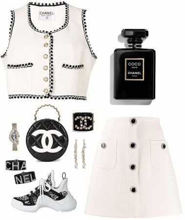 art, chanel, and fancy image