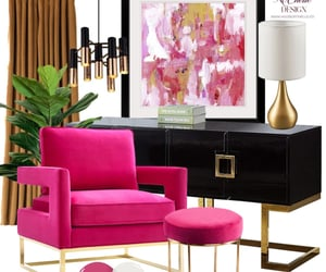 artwork, interior design, and living room image