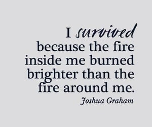 burned, fire, and poetry image