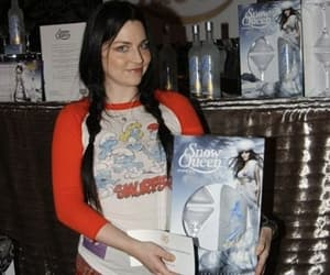 amy lee, smurf, and blue image