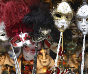 masks and venice image