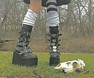 aesthetic, edgy, and goth image