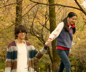 fall, romantic, and japán image