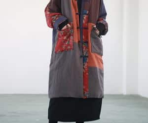 etsy, winter outerwear, and womens coat image