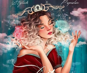 astrology, star sign, and Libra image
