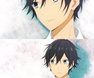 anime, anime guy, and horimiya image