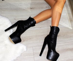 boots, fashion, and platforms image