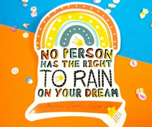 inspiration, rainbow, and inspirational quotes image