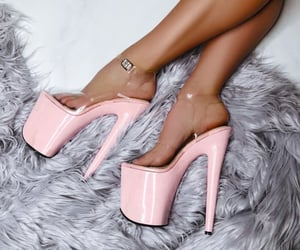 fashion, high heels, and platforms image
