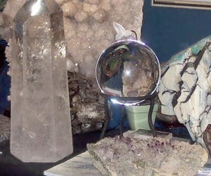 crystal, aesthetic, and witch image