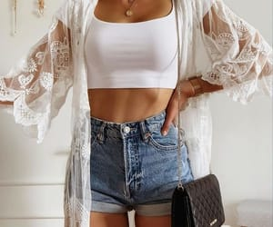 kimono, top, and summer oufit image