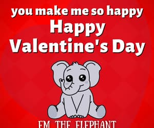 bffs, valentines day, and elephant image