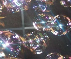 aesthetic, bright, and bubbles image