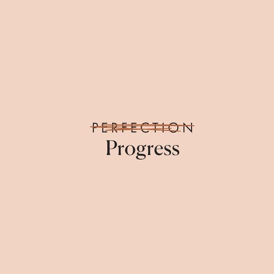 positivity, progress, and words image