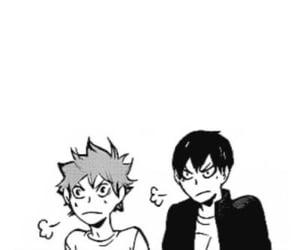 manga, haikyuu, and kageyama tobio image
