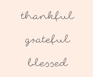 wallpaper, grateful, and quotes image