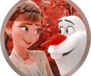 anna, olaf, and profile theme image