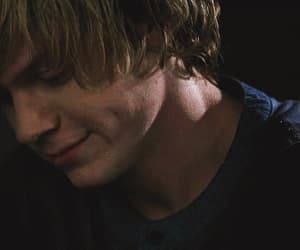 gif, evan peters, and tate langdon image