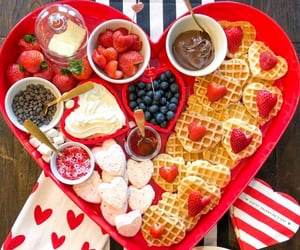 food, valentine, and yummy image