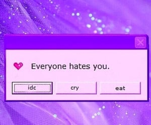 hate, grunge, and cry image