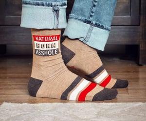 asshole, ladies, and socks image