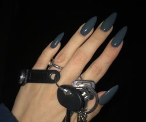 nails, fashion, and tumblr image