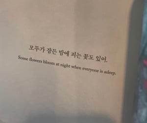 quotes, korean, and words image