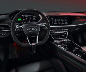 audi, cars, and electric cars image
